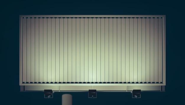 Panneau d'affichage horizontal commercial