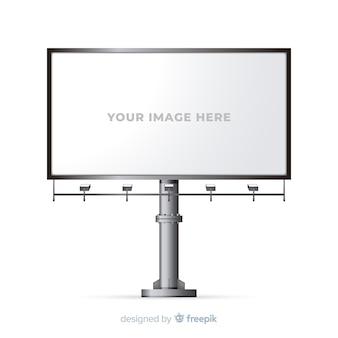 Panneau d'affichage réaliste