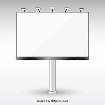 Panneau blanc
