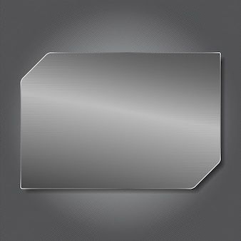 Panneau en métal