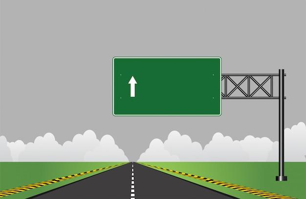 Panneau routier