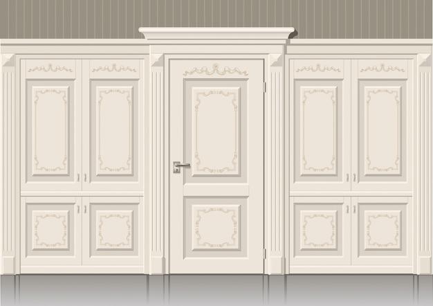 Les panneaux de porte et classique