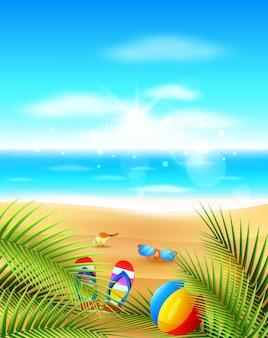 Panorama de la mer