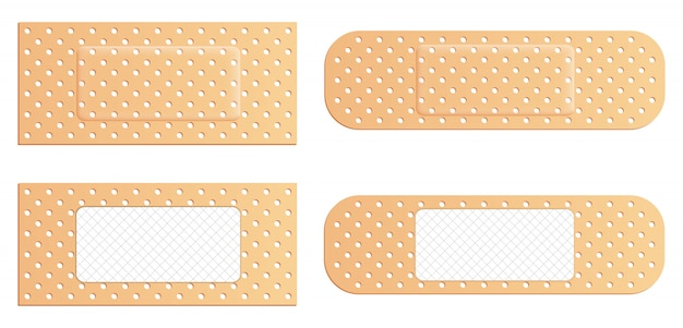Pansements médicaux élastiques pansements adhésifs, patch.