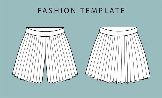 Pantalon vue avant et arrière