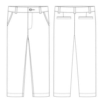 Pantalons pour hommes.