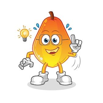 Papaya a une idée.