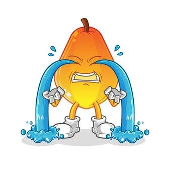Papaye qui pleure.