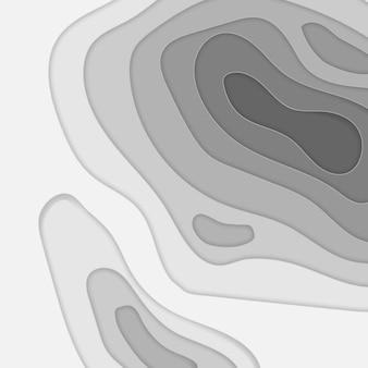 Papier abstrait coupé fond d'art