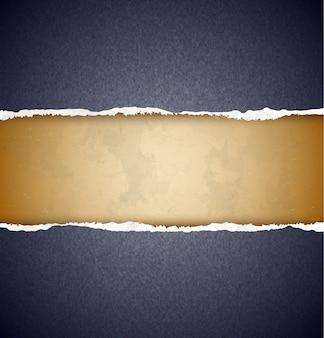 Papier déchiré texturé