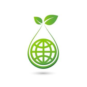 Papier découpé de germes de plantes concept abstrait écologique des feuilles d'arbres de semis sauver la nature de la planète