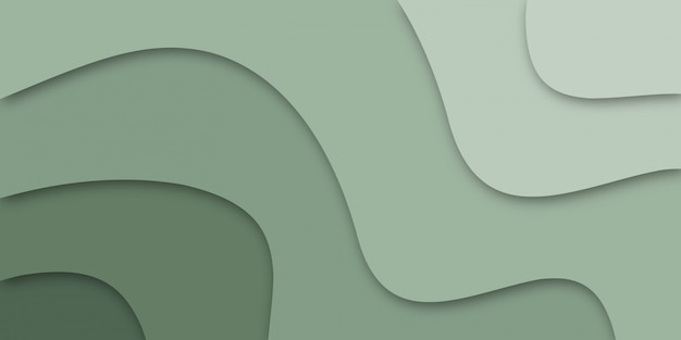 Papier découpé. illustration vectorielle pour bannière.