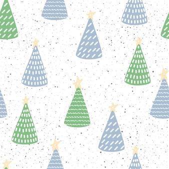 Papier d'emballage de nouvel an ou de noël ou tissu textile swatchseamless pattern background