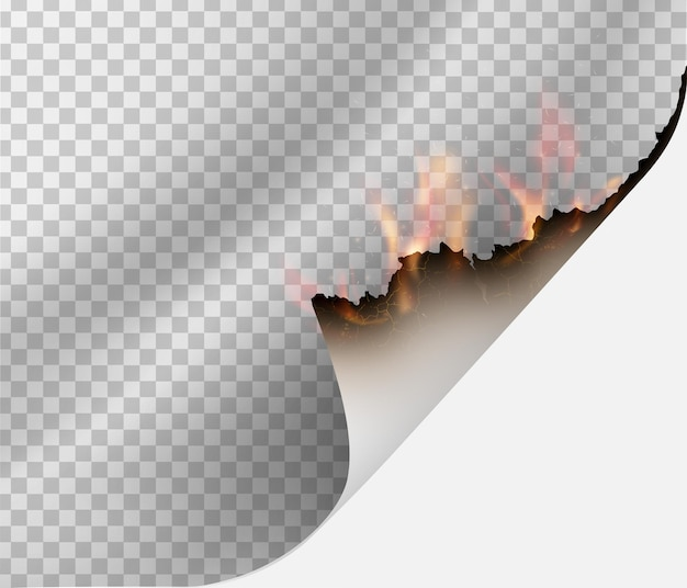 Papier feu. illustration