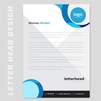 Papier à lettre abstrait