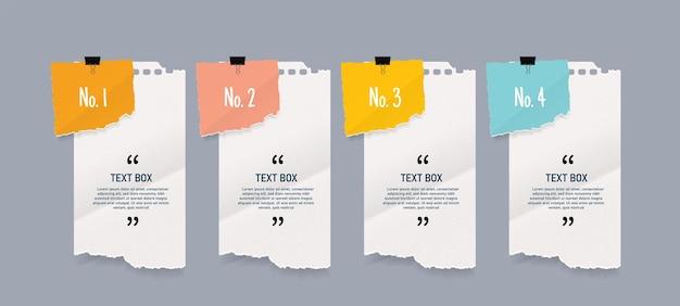 Papier à lettres serti de papier texturé