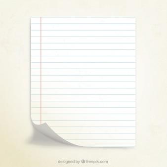 Papier notebook