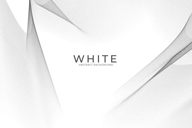 Papier peint abstrait blanc
