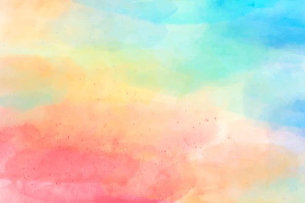 Papier peint abstrait peint à l'aquarelle