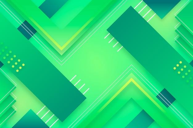 Papier peint abstrait vert