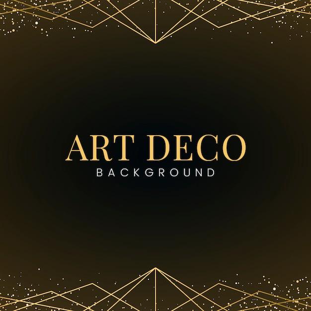 Papier peint art déco minimal avec des paillettes d'or décoratives