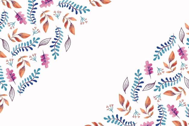 Papier peint automne aquarelle