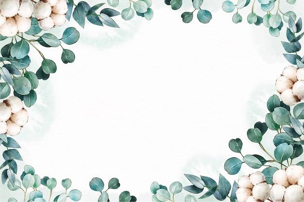 Papier peint floral aquarelle peint à la main