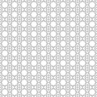 Papier peint de fond motif géométrique islamique sans couture de luxe