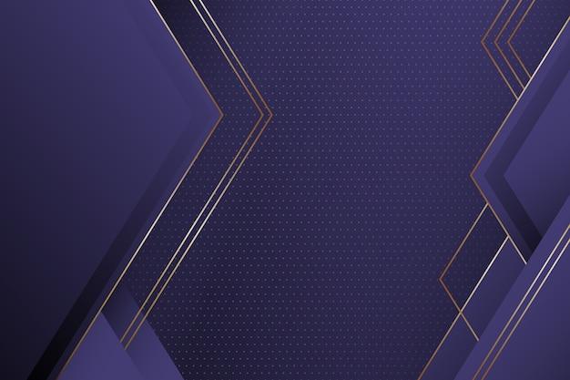 Papier peint de formes géométriques élégantes réalistes