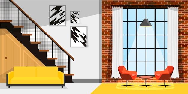 Papier peint intérieur pour vidéoconférence