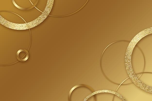 Papier peint de luxe doré