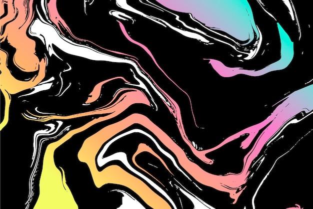 Papier peint en marbre acide