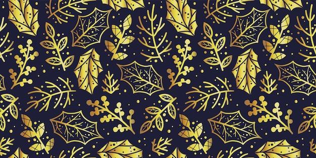 Papier peint à motifs avec feuille et branche pour le design