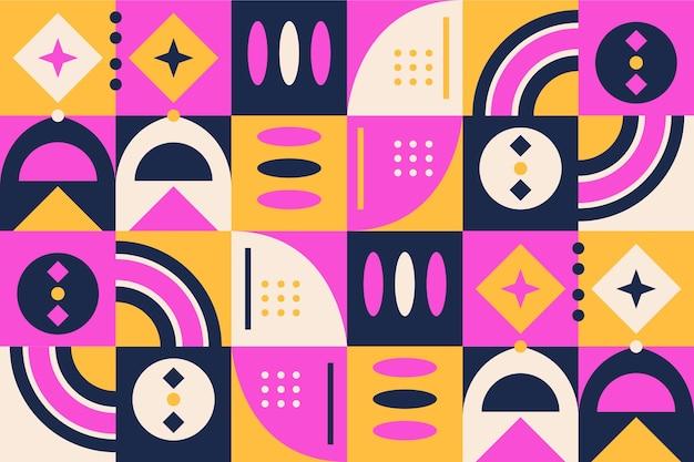 Papier peint mural formes géométriques