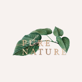 Papier peint nature pure