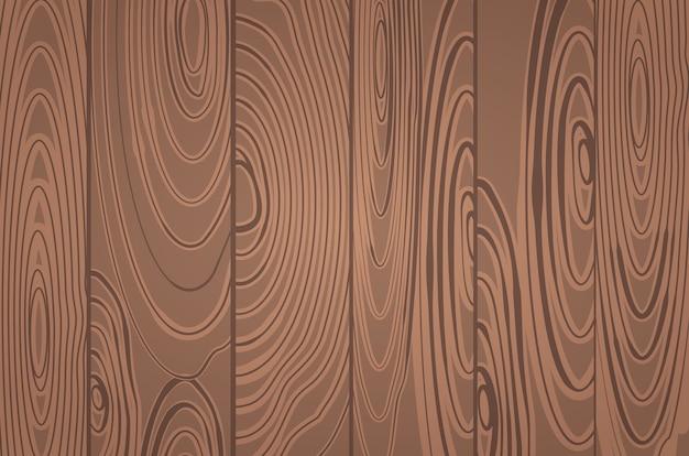 Papier peint à planche horizontale en bois panoramique