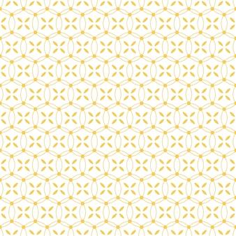 Papier peint traditionnel de fond sans couture batik dans un style de forme géométrique
