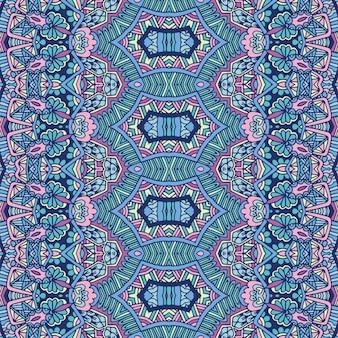 Papier peint de vecteur à la mode tissu vintage décoration de vacances mexicaines de vecteur