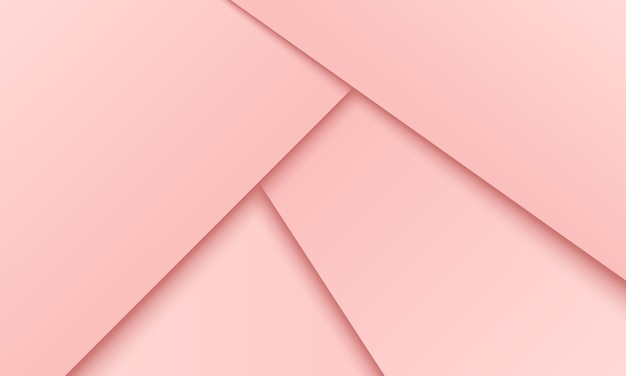 Papier rose abstrait chevauchant l'arrière-plan de la couche. conception d'annonces commerciales.