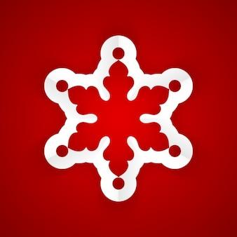 Papier snowflake