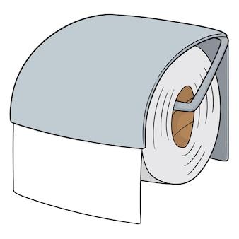 Papier de soie de vecteur