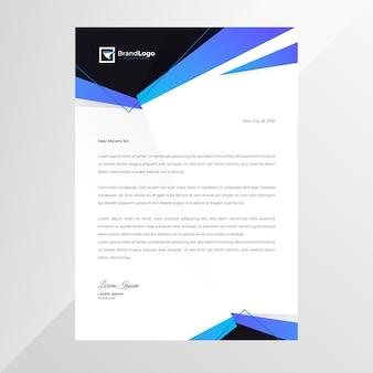 Papier à en-tête commercial marketing