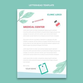 Papier à en-tête médical dessiné à la main