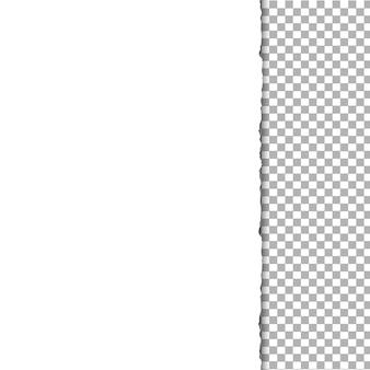 Papier en transparent