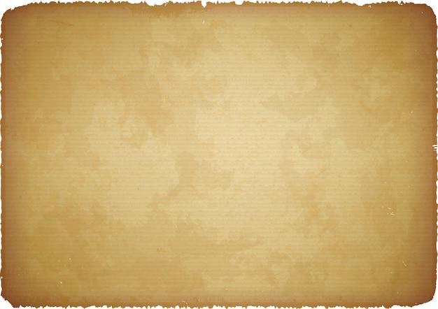 Papier vieilli avec bords déchirés