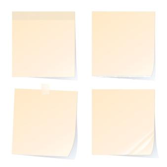 Papiers à notes autocollantes