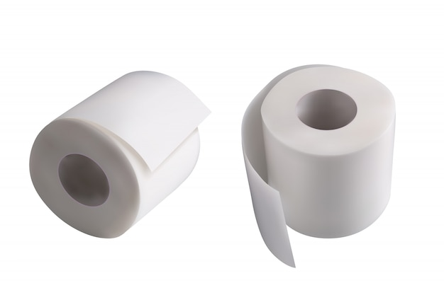 Papiers de toilette couple
