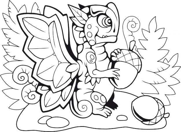 Papillon dragon