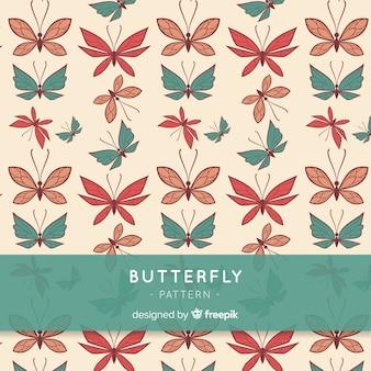 Papillon de fond