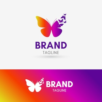 Papillon morph logo